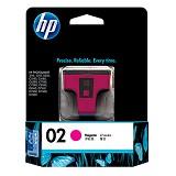 HP Magenta Ink Cartridge 02 [C8772WA]